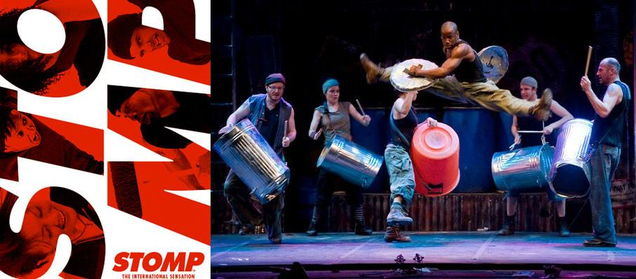 Stomp at Buell Theater
