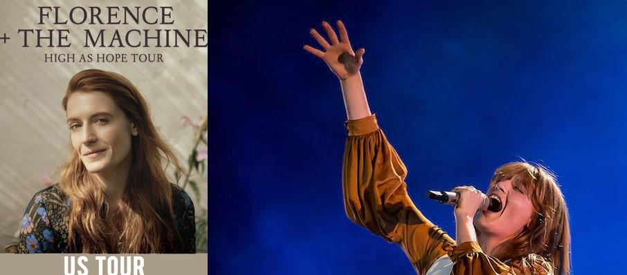 Florence and the Machine at Red Rocks Amphitheatre