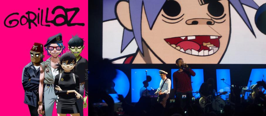 Gorillaz at Red Rocks Amphitheatre