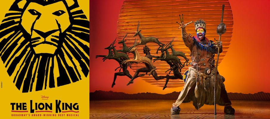 The Lion King at Buell Theater