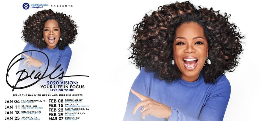 Oprah Winfrey at Pepsi Center