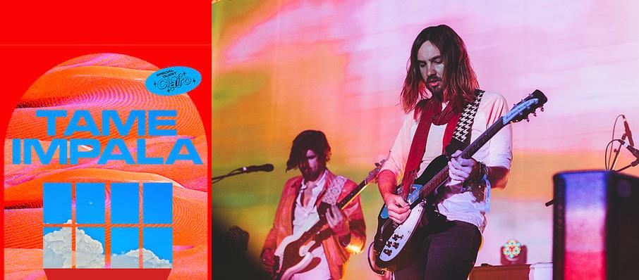 Tame Impala at Pepsi Center