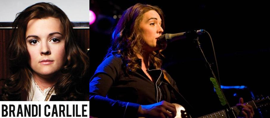 Brandi Carlile at Mission Ballroom