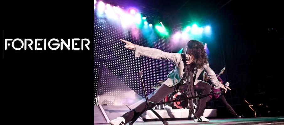 Foreigner at Pepsi Center