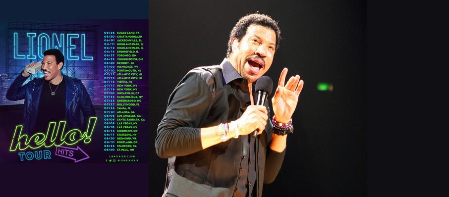 Lionel Richie at Red Rocks Amphitheatre