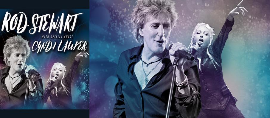 Rod Stewart and Cyndi Lauper at Pepsi Center