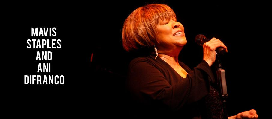 Mavis Staples and Ani DiFranco at Paramount Theater