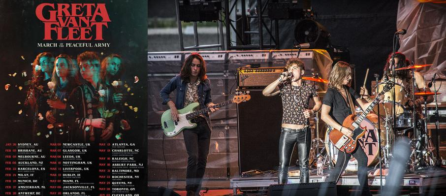 Greta Van Fleet at Red Rocks Amphitheatre