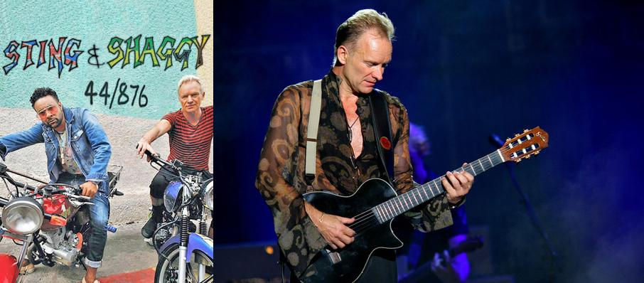 Sting with Shaggy at Fillmore Auditorium