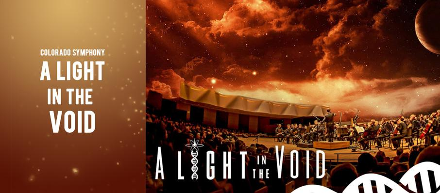 A Light in the Void at Boettcher Concert Hall