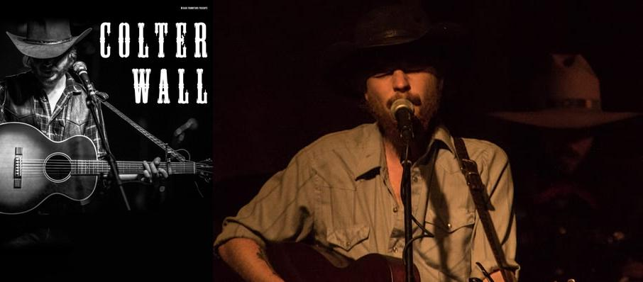 Colter Wall at Ogden Theater