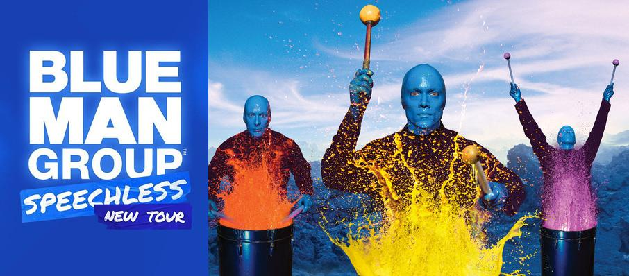 Blue Man Group at Buell Theater