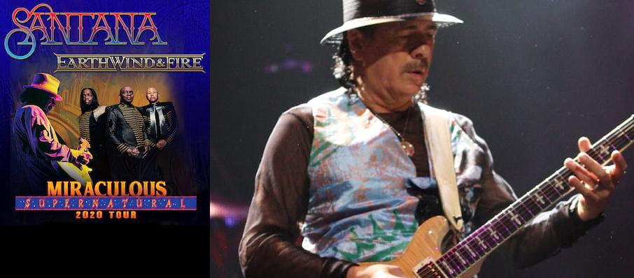 Santana with Earth Wind and Fire at Pepsi Center