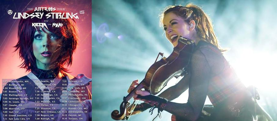 Lindsey Stirling at Red Rocks Amphitheatre