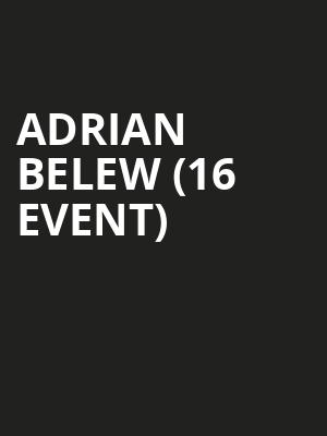 Adrian Belew (16+ Event) at Bluebird Theater