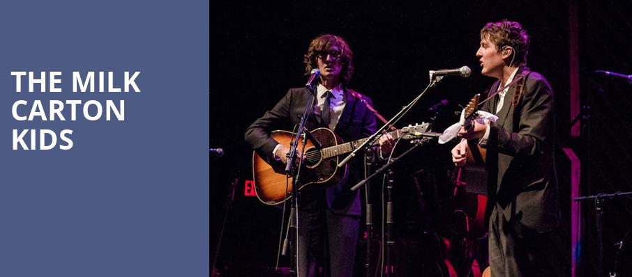 The Milk Carton Kids, Bluebird Theater, Denver