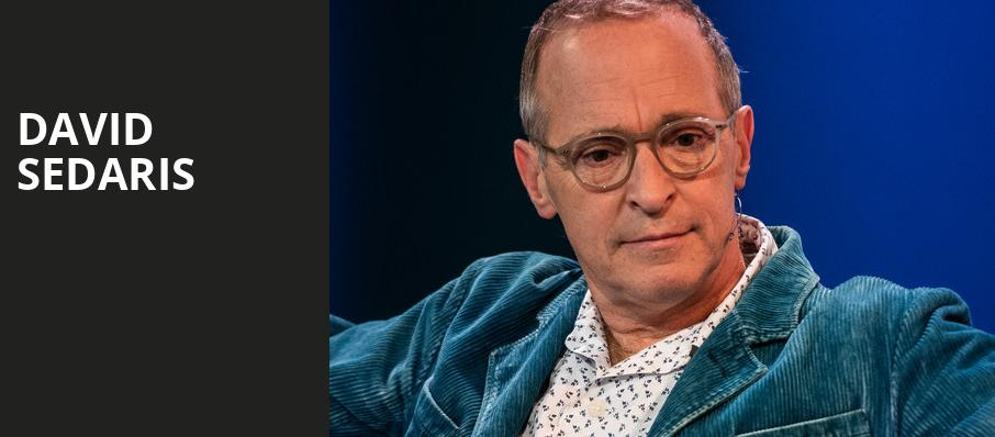 David Sedaris, Union Colony Civic Theater, Denver