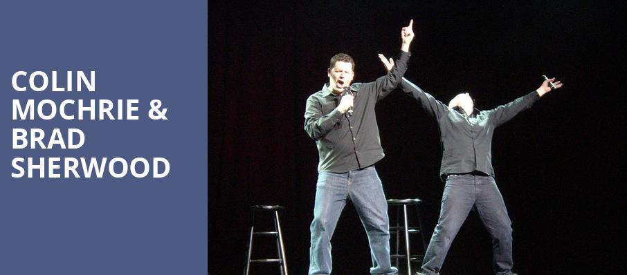 Colin Mochrie Brad Sherwood, Paramount Theater, Denver