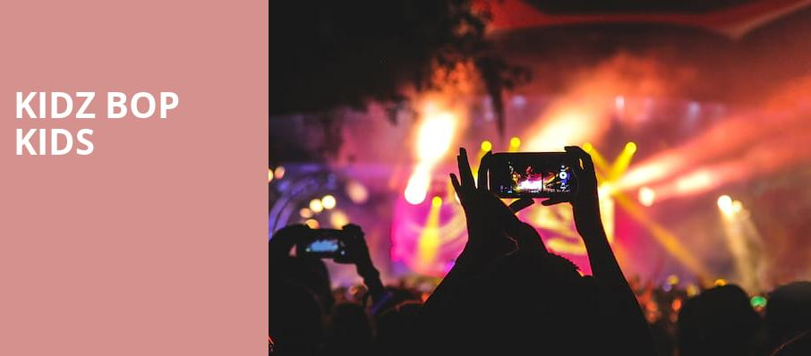 Kidz Bop Kids, Paramount Theater, Denver