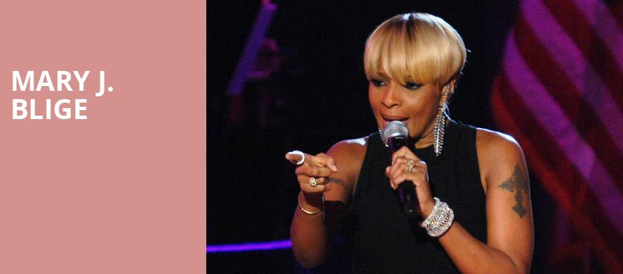 Mary J Blige, Bellco Theatre, Denver