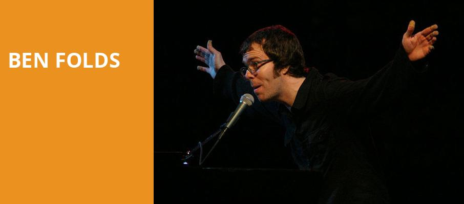 Ben Folds, Ogden Theater, Denver