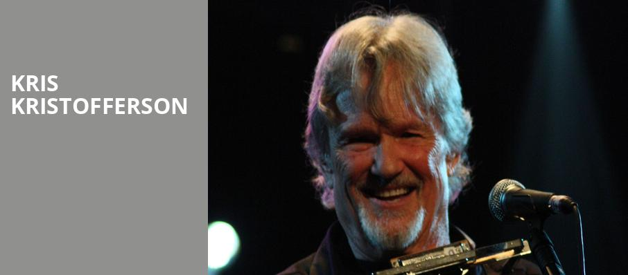 Kris Kristofferson, Paramount Theater, Denver
