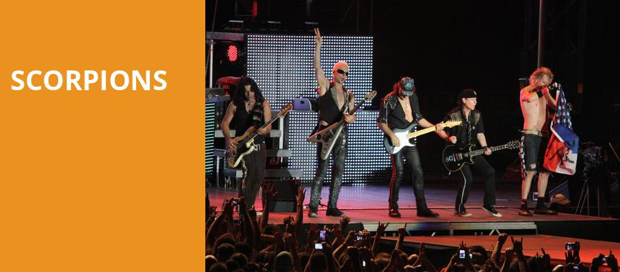 Scorpions, 1stBank Center, Denver