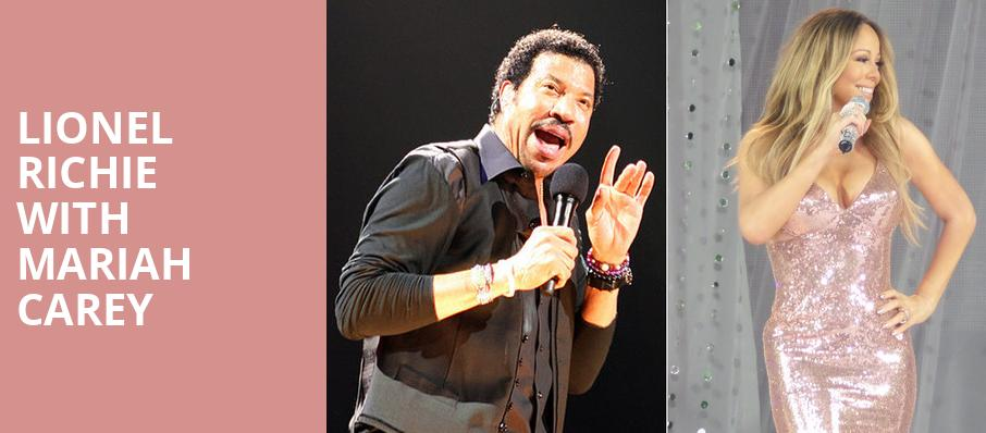Lionel Richie with Mariah Carey, Pepsi Center, Denver