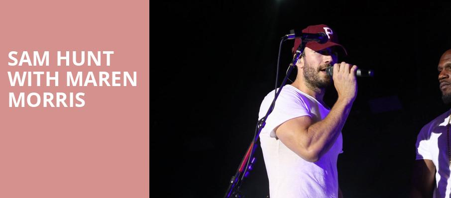 Sam Hunt With Maren Morris, Red Rocks Amphitheatre, Denver
