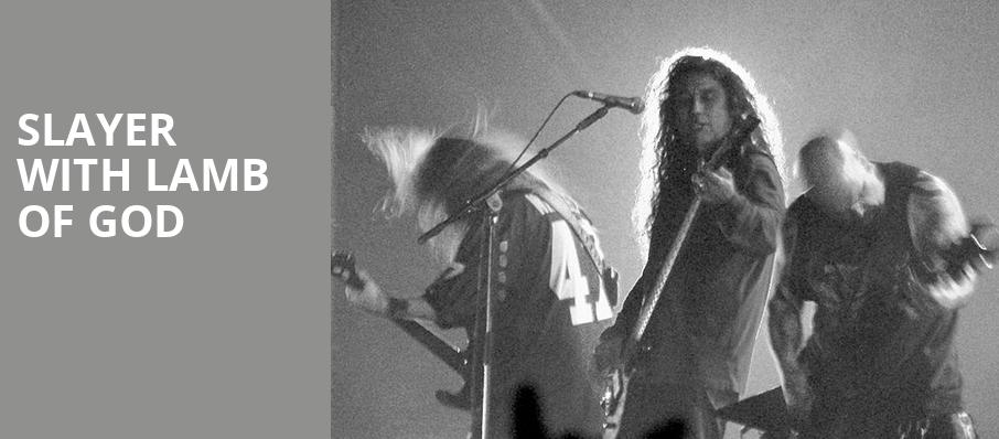 Slayer with Lamb of God, 1stBank Center, Denver