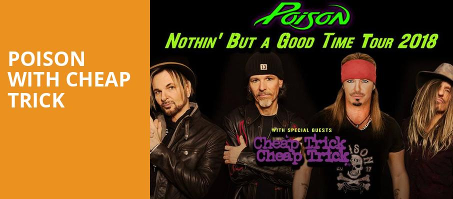 Poison with Cheap Trick, Fiddlers Green Amphitheatre, Denver