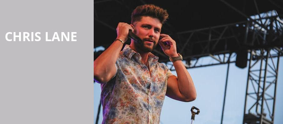 Chris Lane, Summit Music Hall, Denver