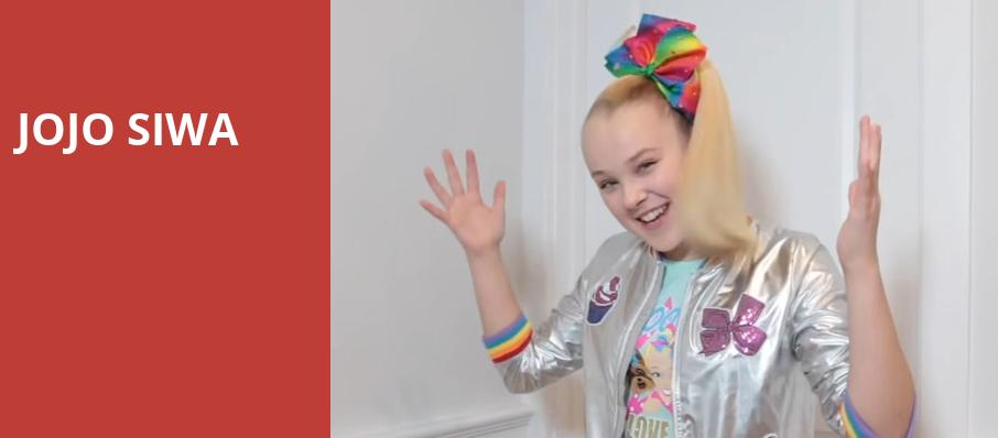 Jojo Siwa, Paramount Theater, Denver