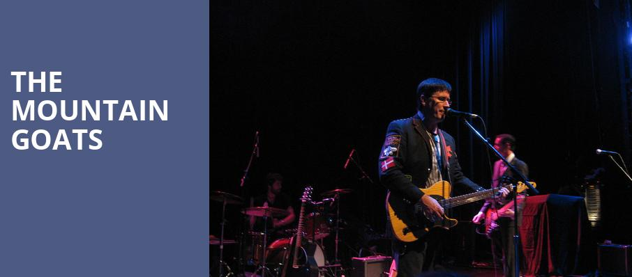 The Mountain Goats, Bluebird Theater, Denver