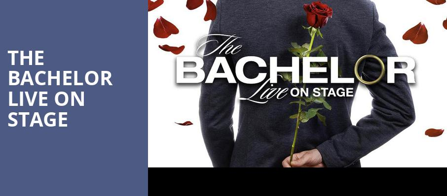 The Bachelor Live On Stage, Buell Theater, Denver