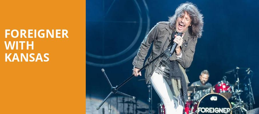 Foreigner with Kansas, Red Rocks Amphitheatre, Denver
