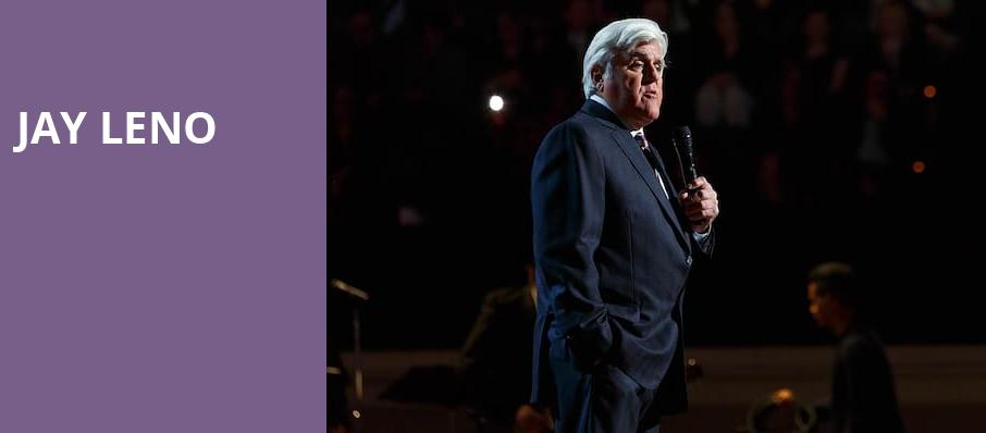 Jay Leno, Paramount Theater, Denver