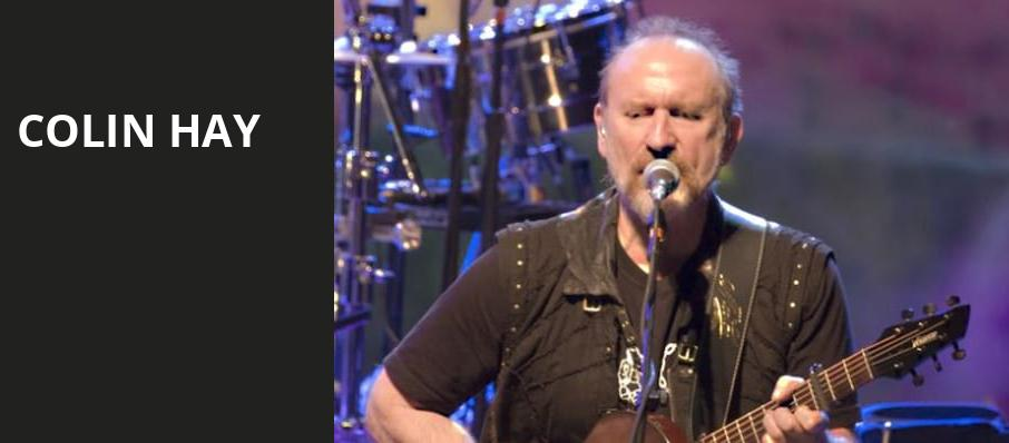 Colin Hay, Paramount Theater, Denver
