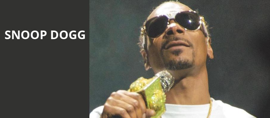 Snoop Dogg, Fillmore Auditorium, Denver