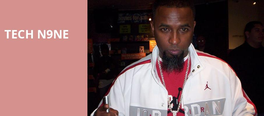 Tech N9ne, Fillmore Auditorium, Denver