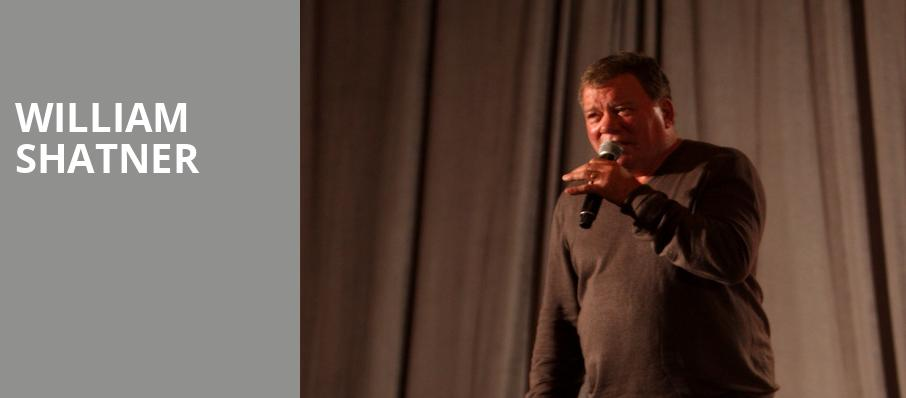 William Shatner, Paramount Theater, Denver