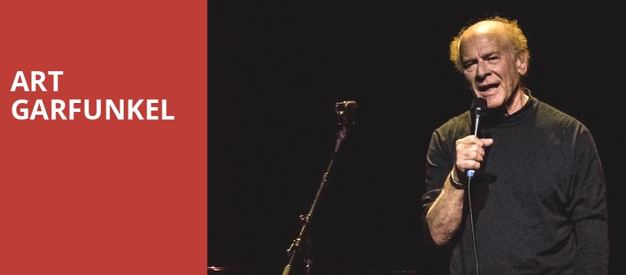 Art Garfunkel, Paramount Theater, Denver