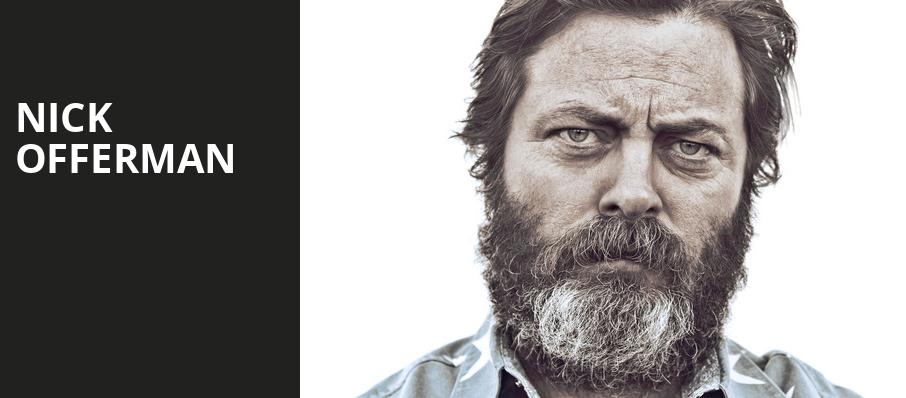Nick Offerman, Paramount Theater, Denver
