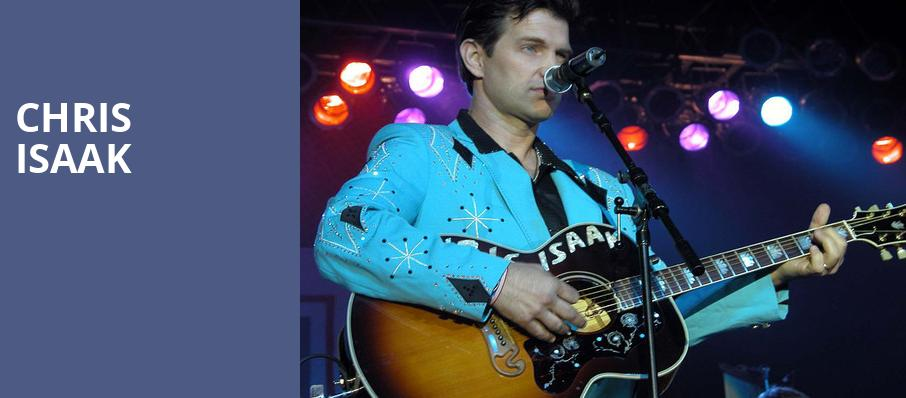 Chris Isaak, Boulder Theater, Denver