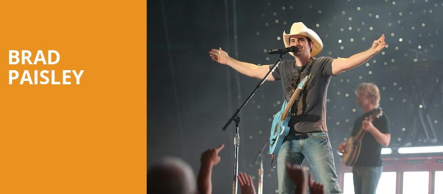Brad Paisley, Pepsi Center, Denver